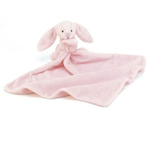 Jellycat pink bunny rabbit lovey bashful soother